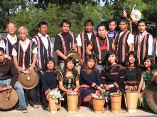 Người Thượng Tây Nguyên Việt Nam tại North Carolina, Hoa Kỳ, ảnh chụp trước đây. RFA PHOTO.