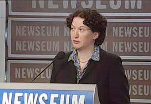 Bà Karin Karlekarr, tổng biên tập của Freedom House