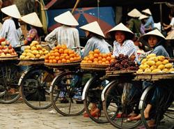 Một khoảng chợ trái cây bán rong- namvietnews.wordpress.com photo