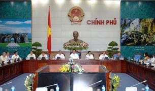Buổi làm việc của Thủ tướng Nguyễn Tấn Dũng với Liên hiệp các Hội Khoa học và Kỹ thuật Việt Nam tại Hà Nội hôm 29/7/2014.