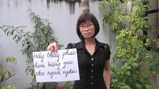 """Cựu tù nhân lương tâm Phạm Thanh Nghiên: """"Công an Hà Nội triệu tập tôi trong hoàn cảnh bất khả kháng"""""""