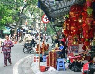 Lồng đèn Phố Cổ đặm nét Trung Quốc