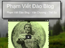 Trang blog của Phạm Viết Đào. RFA files