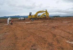 Xây dựng nhà máy tuyển quặng bô - xít