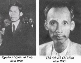 Ông Hồ Chí Minh. Ảnh tư liệu