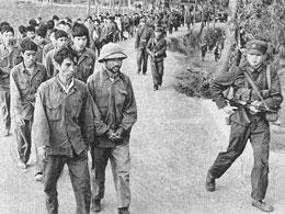 Bộ đội Việt Nam bị Trung Quốc bắt năm 1979. files photos