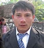 Mục sư Nguyễn Trung Tôn (trước lúc bị bắt vào cuối năm 2010). RFA file