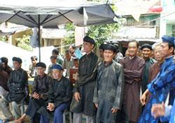 Các tín đồ PGHH trong lần chuẩn bị hành lễ trước đây. FIle photo.