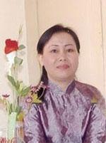 Chị Dương Thị Tân, vợ cũ blogger Điếu Cày. Citizen photo