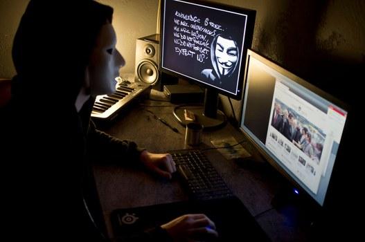 Một trong những hackers. (Ảnh minh họa)