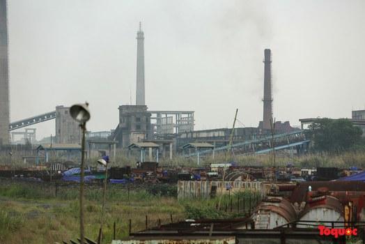 Hình minh họa. Dự án mở rộng ở nhà máy Gang Thép Thái Nguyên