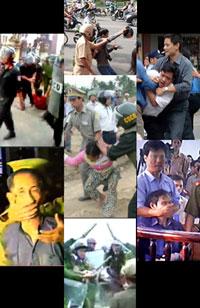 Quyền hành vô hạn của công an Việt Nam. RFA file