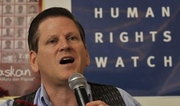 Phil Robertson - Phó Giám đốc Tổ chức Theo dõi Nhân quyền khu vực châu Á