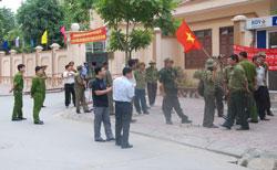 Thương binh Hà Tĩnh khiếu kiện. Courtesy of tintuchangngay.org