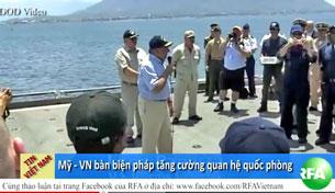 Bộ trưởng Quốc phòng Hoa Kỳ Leon Edward Panetta thăm cảng Cam Ranh  (tháng 6, 2012)