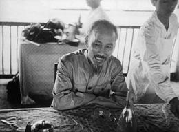 Ông Hồ Chí Minh năm 1954. Files photos