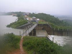 Hồ thủy điện Phú Ninh . Source laodong.com