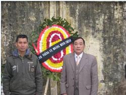 Ông Vi Đức Hồi (phải) và ông Nguyễn Bá Đăng, ảnh chụp trước đây.