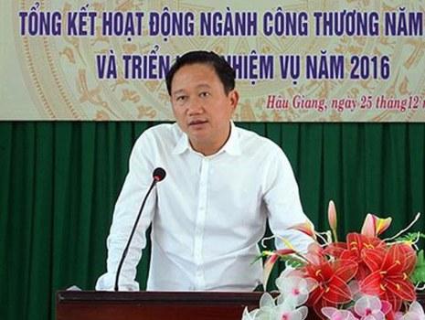 Ông Trịnh Xuân Thanh, nguyên cán bộ Bộ Công Thương