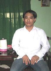 Hình chụp anh Đoàn Huy Chương tại SG ngày 15/05/08.