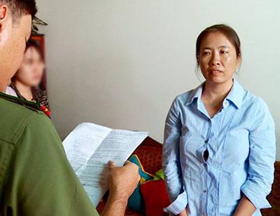Blogger Mẹ Nấm - Nguyễn Ngọc Như Quỳnh bị bắt hôm 10/10/2016.