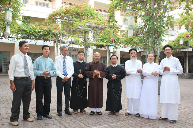 Image result for hội đồng liên tôn việt nam