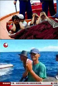 Ngư dân Việt Nam không được bảo vệ  thường xuyên bị Trung Quốc bắt -2009-2010. (Source báo chí Trung Quốc)