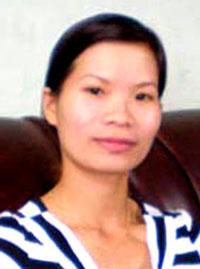 Cô Phạm Thanh Nghiên trước khi bị bắt