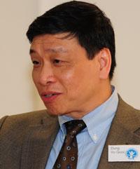 Ông Vũ Quốc Dụng, tổng thư ký Hiệp Hội Nhân Quyền Quốc Tế tại Đức (ISHR). Hình do Ông Vũ Quốc Dụng cung cấp.