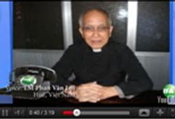 Linh mục Phan Văn Lợi- RFA caption