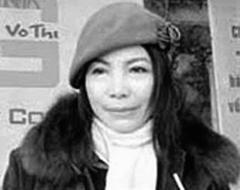 Nhà văn Võ Thị Hảo. Source Blog Vo Thi Hao