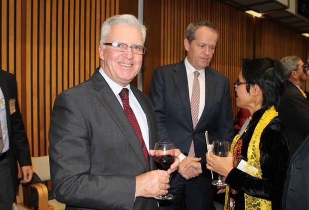 Ông Chris Haye, dân biểu đảng Lao động Úc