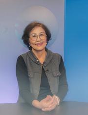 Nữ nghệ sĩ Kim Chi (24/04/2014). RFA
