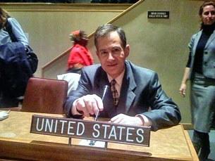 Ông Grover Joseph Rees, cựu đại sứ Hoa Kỳ đầu tiên tại Đông Timor, nguyên quyền đại sứ Mỹ tại Liên Hiệp Quốc