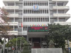 Trụ sở Petro Việt Nam tại Hà Nội hôm 24/12/2011. RFA PHOTO.