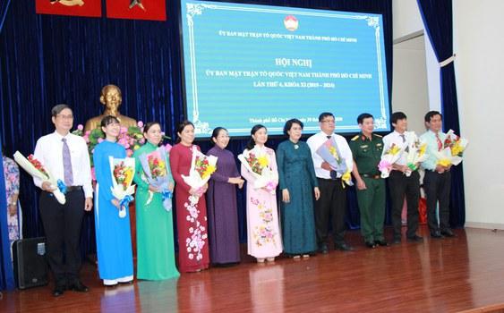 Ủy ban Mặt Trận Tổ Quốc Việt Nam (MTTQVN) tại thành phố Hồ Chí Minh (TPHCM) khóa XI, vào ngày 30 tháng 6 năm 2020, đã tổ chức Hội nghị đánh giá kết quả hoạt động công tác 6 tháng đầu năm, chuẩn bị cho 6 tháng cuối năm 2020.