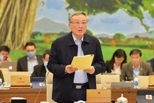 Chánh án Nguyễn Hòa Bình lại khẳng định không có án oan
