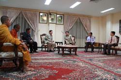Bộ Ngoại giao và Hợp tác Quốc tế Campuchia gặp gỡ đại diện của Hiệp hội Khmer Krom sáng ngày 31/10/2013 tại Phnom Penh. RFA PHOTO/Quốc Việt.