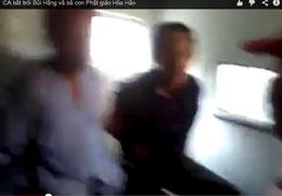 Những người đi thăm anh Nguyễn Bắc Truyển bị bắt trói như tù hình sự. Courtesy binhtrung.org