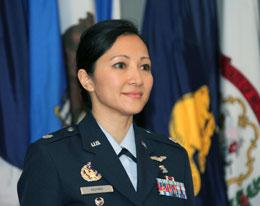 Một hãnh diện cho người Việt tại Hoa Kỳ: Đại tá Bác sĩ Không quân Huynh Tran Mylene, Giám đốc chương trình Y khoa Quốc tế Không quân Hoa Kỳ. RFA