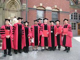 Sinh viên Việt Nam tại đại học Harvard. File photo