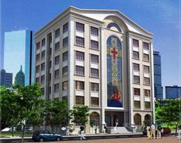 Văn phòng Hội đồng Giám mục Việt Nam ở số 72/12 đường Trần Quốc Toản, phường 8 quận 3, thành phố Hồ Chí Minh (ảnh Caritas Phú cường)