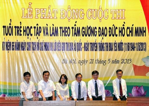 Cuộc thi Tuổi trẻ học tập đạo đức Hồ Chí Minh năm 2013