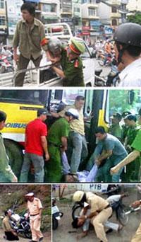 Một vài kiểu hành xử theo kiểu công an, người có trách nhiệm bảo vệ dân