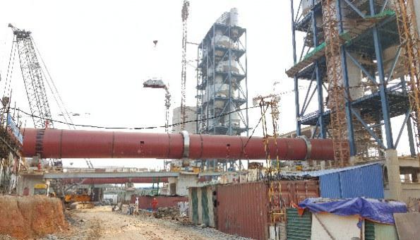 Giai đoạn II nàh máy xi măng Sông Lam.