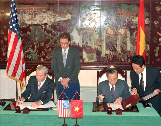 Nhìn lại 25 năm bình thường hóa quan hệ Việt - Mỹ