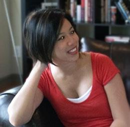 Cô Christine Hà.  RFA