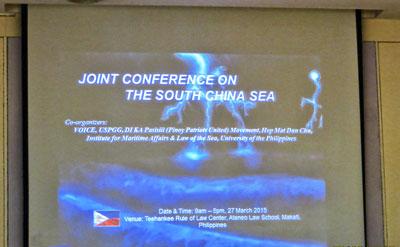 Hội nghị quốc tế tại Manila, Philippines