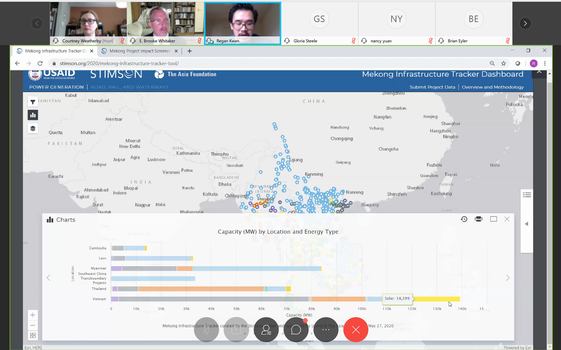 Ông Regan Kwan trình bày những tính năng của công cụ trong buổi họp báo trực tuyến ngày 27/5.