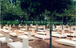 Nghĩa trang Quân đội Biên Hòa nằm trên xa lộ Biên Hòa, Dĩ An, Bình Dương, ảnh chụp tháng 4 năm 2013. Photo courtesy of VIA-VIG
